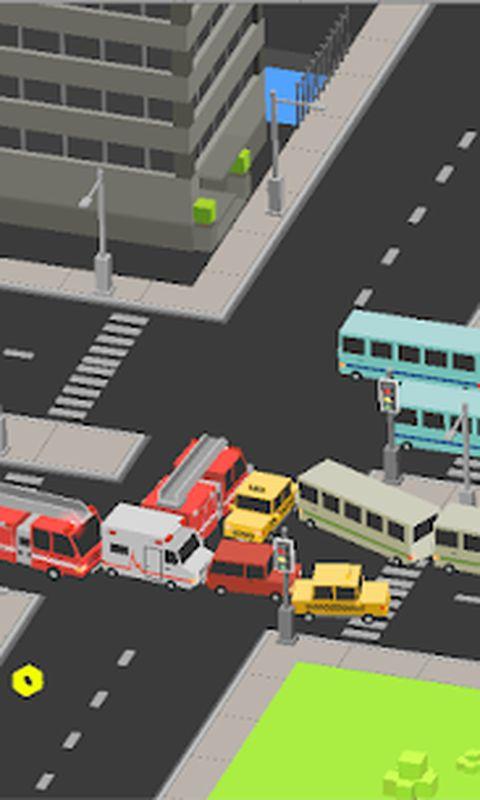 汽车过马路
