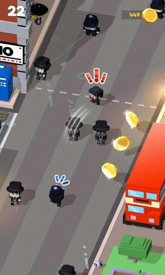 方块警察抓小偷