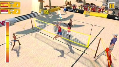 专业沙滩排球