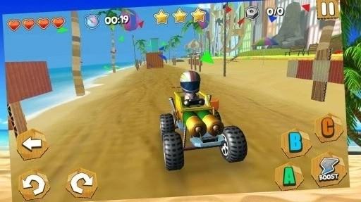 某不正常的沙灘車