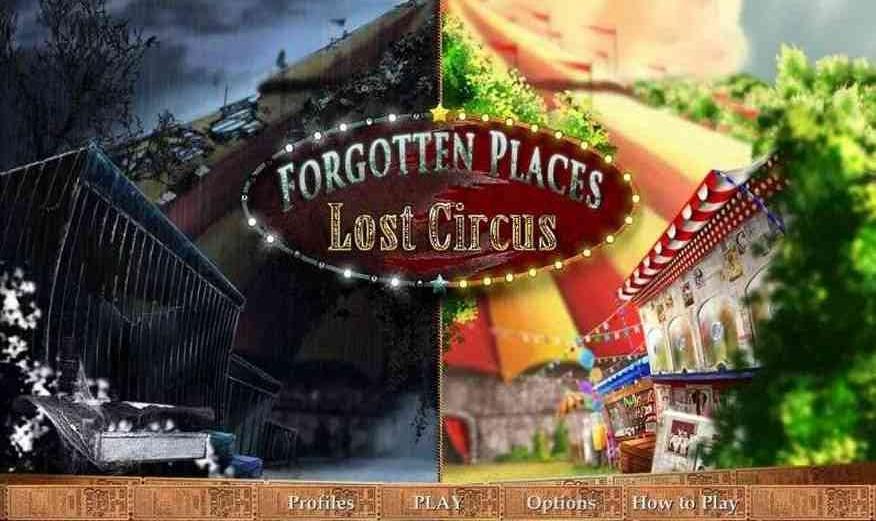 遺忘之地:失落的馬戲團