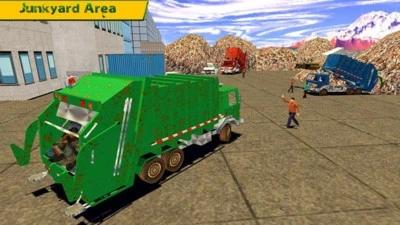 垃圾车模拟器:2019