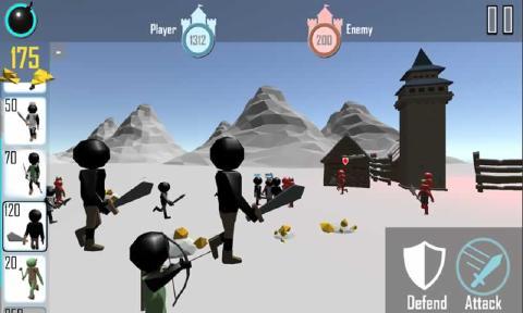 火柴人战争3D