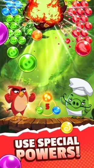 愤怒的小鸟泡泡大战2