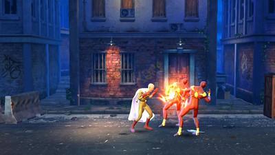 一拳超人街头混战