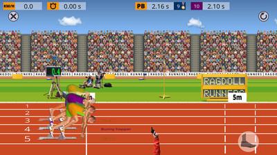 布娃娃跑步者
