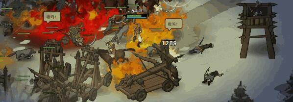 《部落与弯刀》新版本重做攻城 小姨子现在能开炮车了2