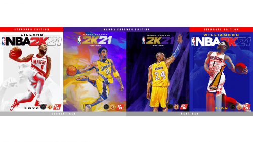 NBA 2K21三位封面球员公布:利拉德、科比、锡安1