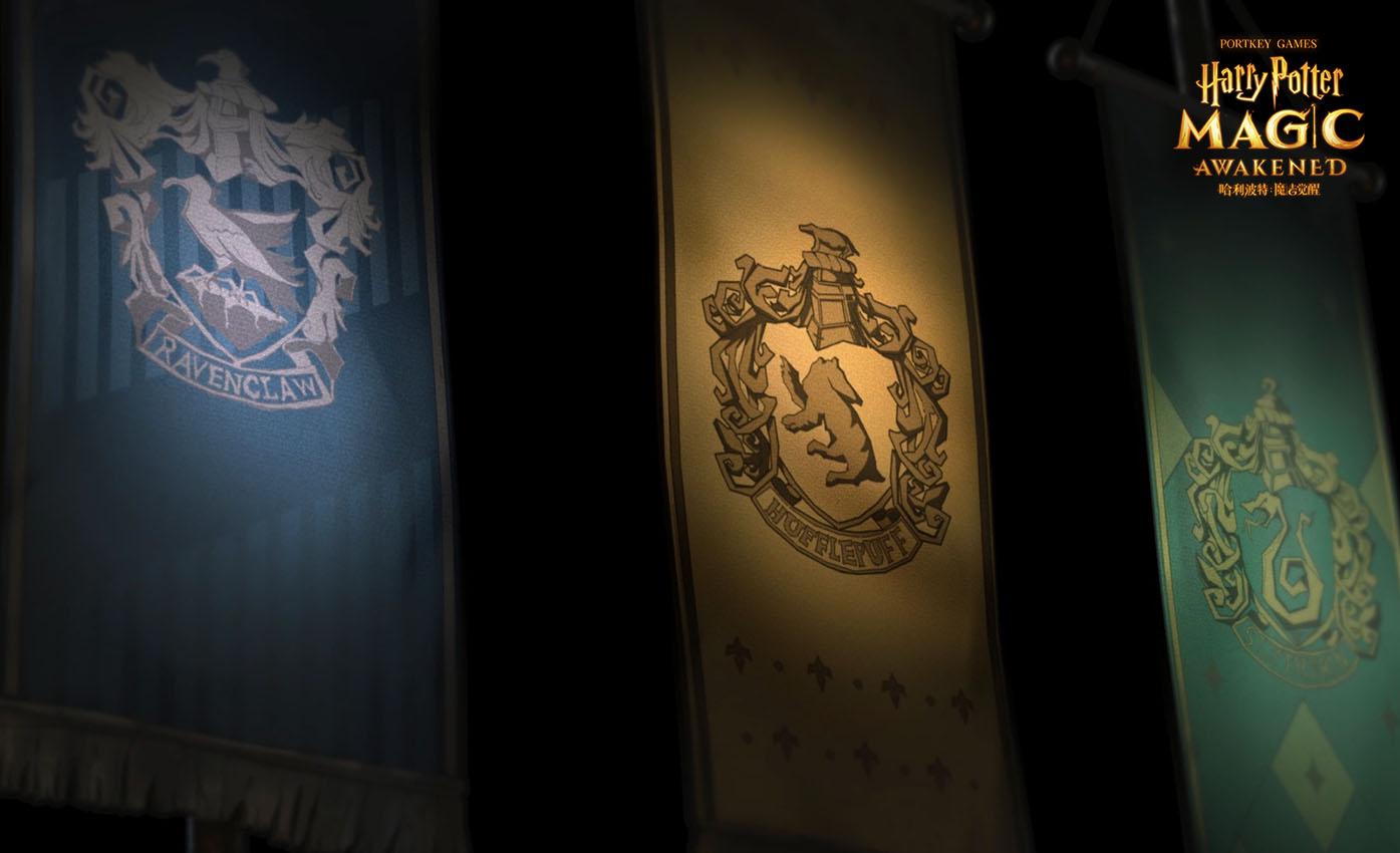 《哈利波特:魔法觉醒》霍格沃茨城堡在夜幕下矗立,神秘魔法空间缓缓开启3