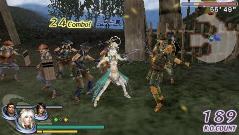 无双大蛇魔王再临PSP版