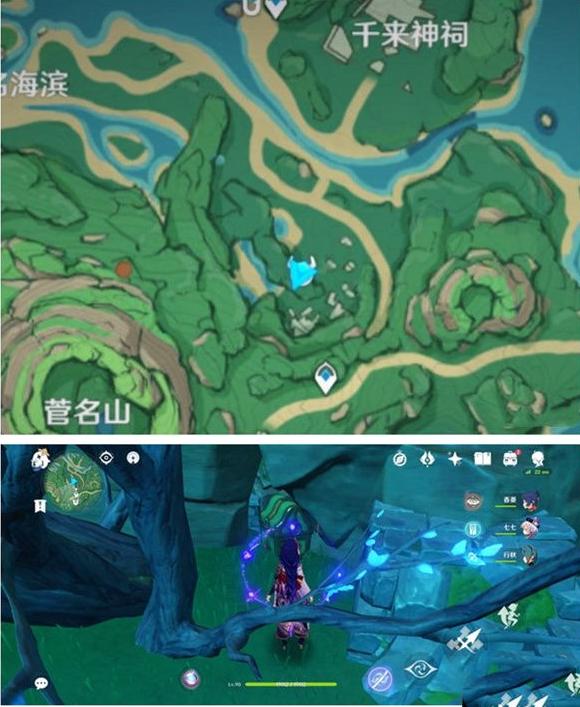《原神》鹤观岛隐藏宝箱位置分享