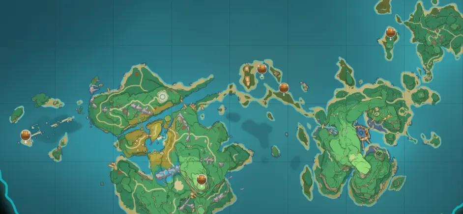 原神稻妻地图宝箱位置大全 稻妻194个宝箱分布位置图文一览图片8