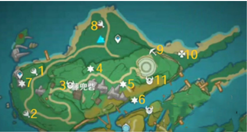 《原神》稻妻藤兜砦区域宝箱位置介绍