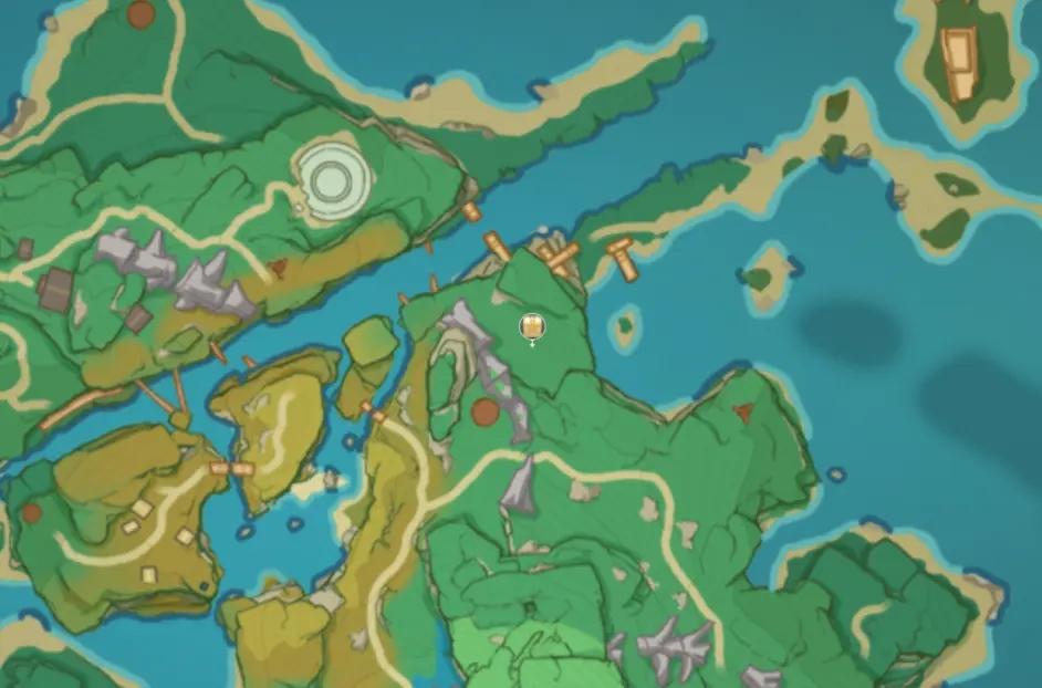 原神稻妻地图宝箱位置大全 稻妻194个宝箱分布位置图文一览图片4