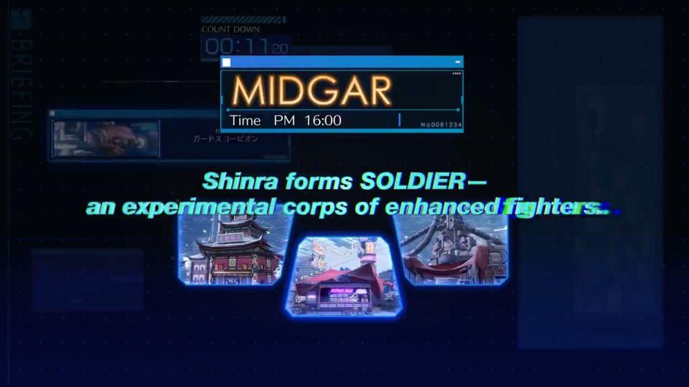 最终幻想7 The First Soldier