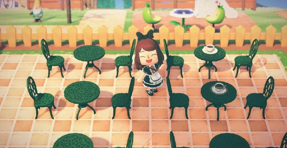 动物森友会咖啡馆正方形地砖素材分享1