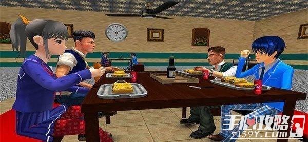高中男生虚拟生活
