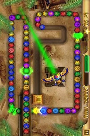 埃及祖玛PSP版