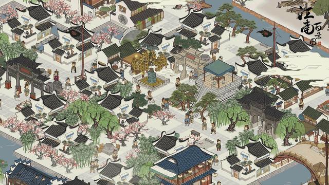 《江南百景图》严大人春季建筑获得方法