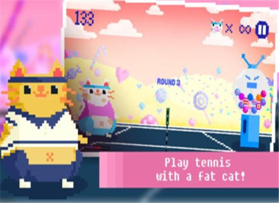 糖果猫网球