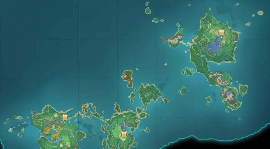 原神稻妻地图宝箱位置大全 稻妻194个宝箱分布位置图文一览图片3