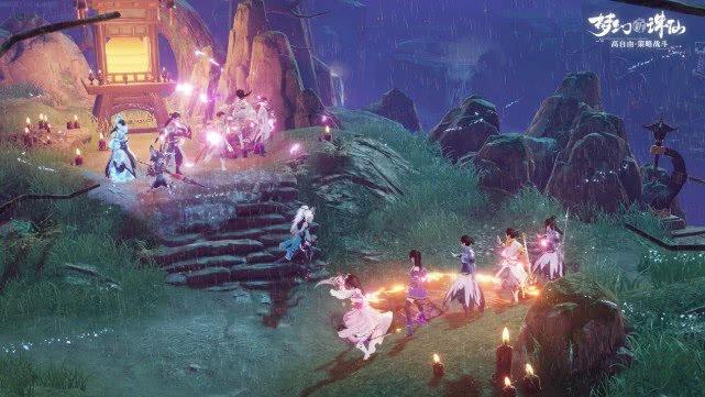 《梦幻新诛仙》评测:可玩性十足的诛仙世界3