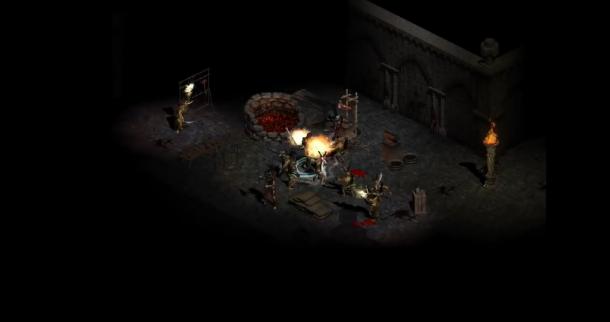 《暗黑破坏神2重制版》新版和原版画面模型对比