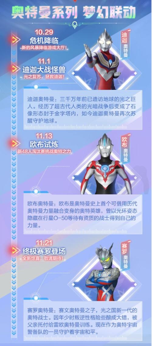 QQ飞车手游奥特曼联动10.29开启6