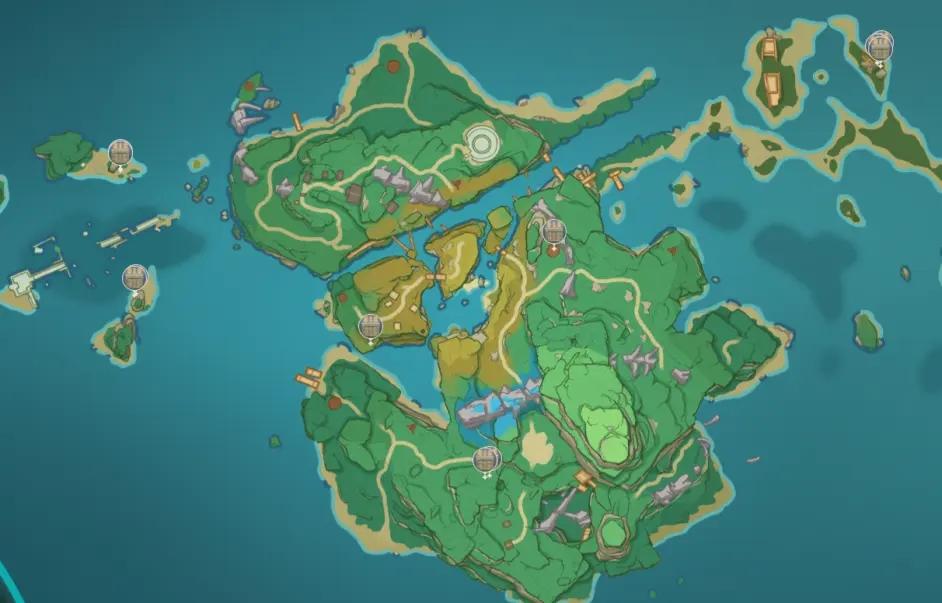 原神稻妻地图宝箱位置大全 稻妻194个宝箱分布位置图文一览图片12