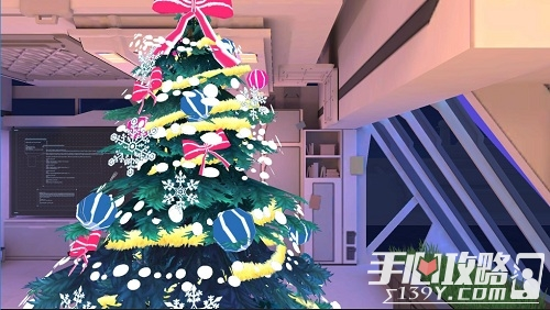 《苍蓝誓约》圣诞节活动今日开启,雪花飞舞 铃儿响叮当8