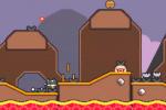 超级猫兄弟5-2熔岩坑1通关攻略详解