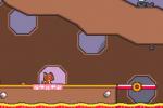 超级猫兄弟5-5灰烬城堡通关攻略详解