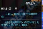 DNF特别宠物礼盒介绍