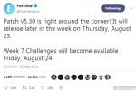 堡垒之夜V5.3补丁和第七周挑战延时发布