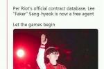 Faker与SKT合同结束正式成为自由人 是去还是留?