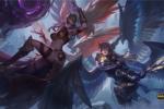 英雄联盟正义天使&堕落天使重做上线光与暗的交锋