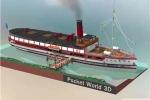 我愛拼模型新西蘭皇后鎮tss號蒸汽船搭建攻略